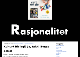 rasjonalitet.blogg.no