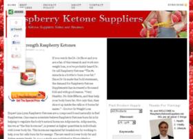 raspberryketonesuppliers.net