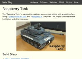 raspberrytank.ianrenton.com