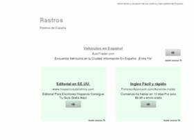 rastros.es