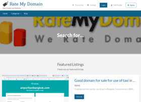 rate-my-domain.com