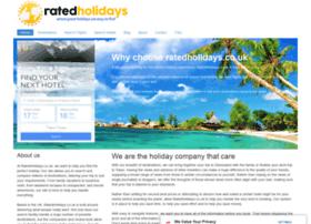 ratedholidays.co.uk