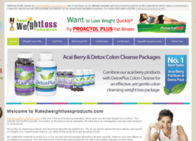 ratedweightlossproducts.com