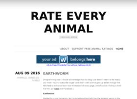 rateeveryanimal.com