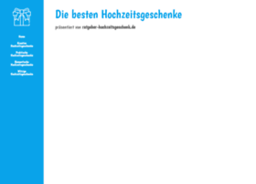 ratgeber-hochzeitsgeschenk.de