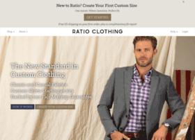 ratioclothing.com