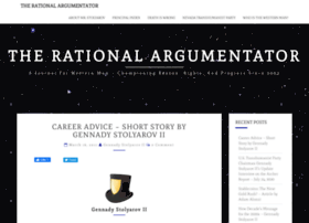 rationalargumentator.com