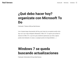 raulserrano.net
