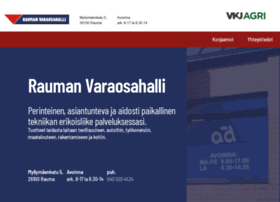 raumanvaraosahalli.fi