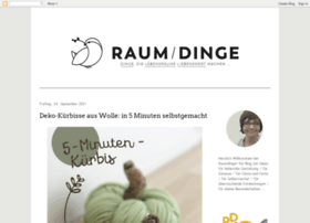 raumdinge.blogspot.com