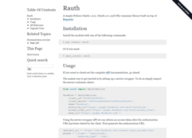 rauth.readthedocs.org