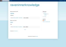 raveninnerknowledge.blogspot.com