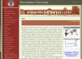 ravenshawuniversity.in