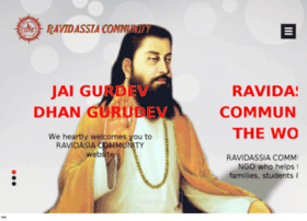 ravidassiacommunity.com