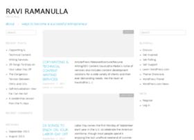 Raviramanulla.wordpress.com