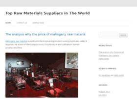 rawmaterialssupply.com