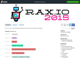 raxio2015.sched.org