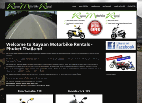 rayaanmotorbikephuket.com