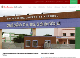 rayalaseemauniversity.ac.in