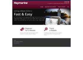 raymarine.4myrebate.com