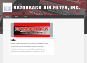 razorbackairfilters.com