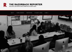 razorbackreporter.uark.edu