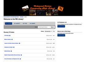 rbchs.libguides.com