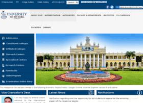 rc.uni-mysore.ac.in