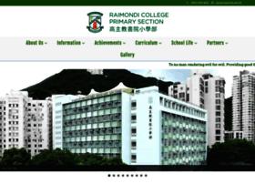 rcps.raimondi.edu.hk