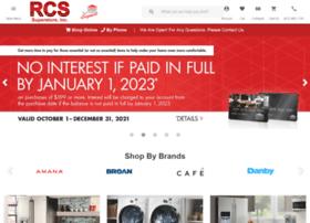 rcsappliances.com