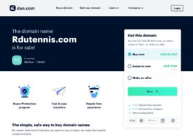 rdutennis.com