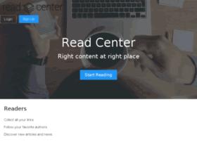 read.center