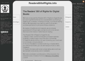 readersbillofrights.info