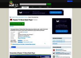 readon-tv-movie-radio-player.soft32.com
