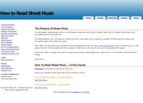 readsheetmusic.info