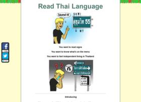 readthailanguage.com