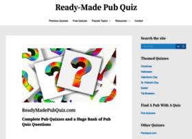 Readymadepubquiz.com