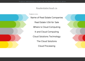 realestatecloud.co