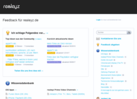 realeyz.uservoice.com