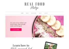 realfoodpledge.com