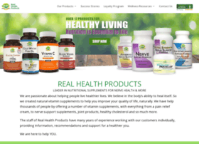 realhealthproducts.com