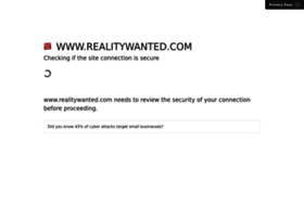 realitywanted.com
