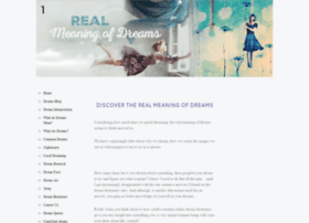 realmeaningofdreams.com