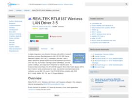 realtek-rtl8187-wireless-lan-driver.updatestar.com