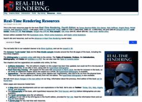 realtimerendering.com