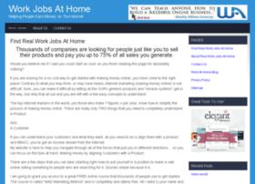 realworkjobsathome.com
