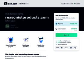 reasonistproducts.com