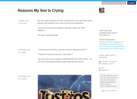 reasonsmysoniscrying.tumblr.com
