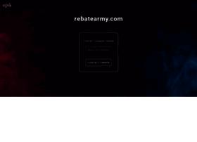 rebatearmy.com