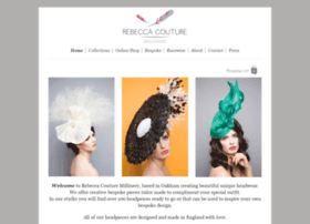 rebeccacouturemillinery.co.uk